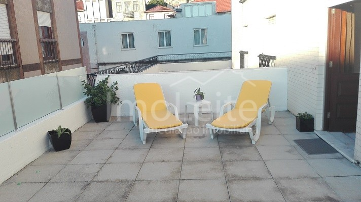 Apartamento T2 Vila do Conde Renovado com terraço