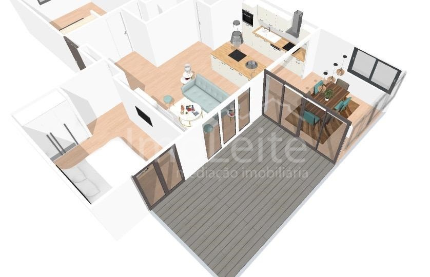 Apartamento T2 Póvoa de Varzim Aver-o-Mar Renovado